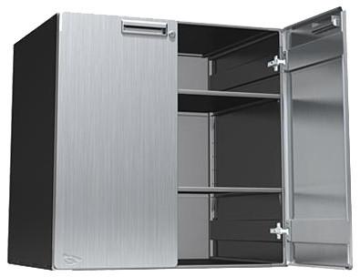 Steel Garage Cabinet - 30x30x24 Inch - Upper - Industrial ...