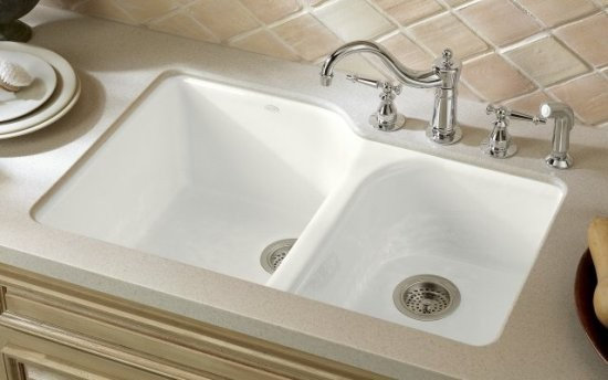 Cast Iron Kohler Kitchen Sink - Traditional - Kitchen Sinks - denver ...