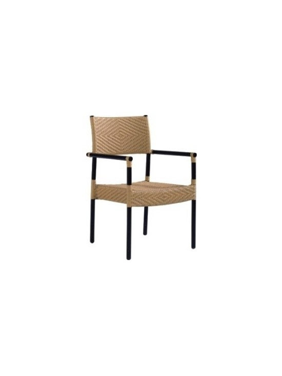 Rattan Patio Chair 650-SO - This rattan patio chair will instantly enhance any patio or outdoor seating decor.