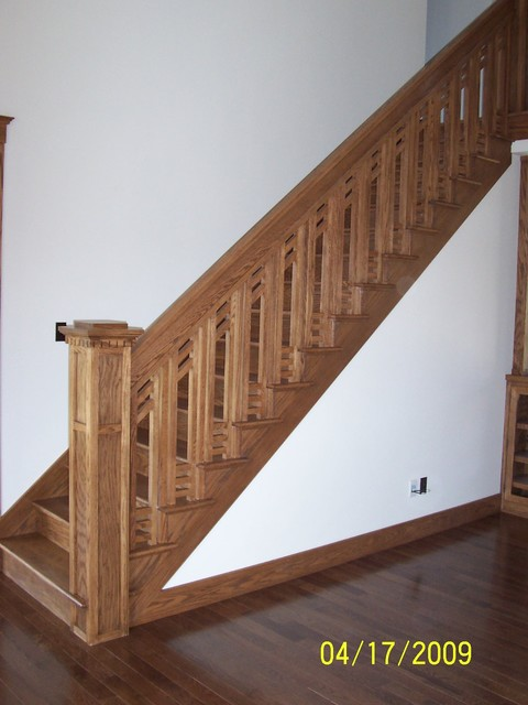 Rocco Craftsman traditional-staircase