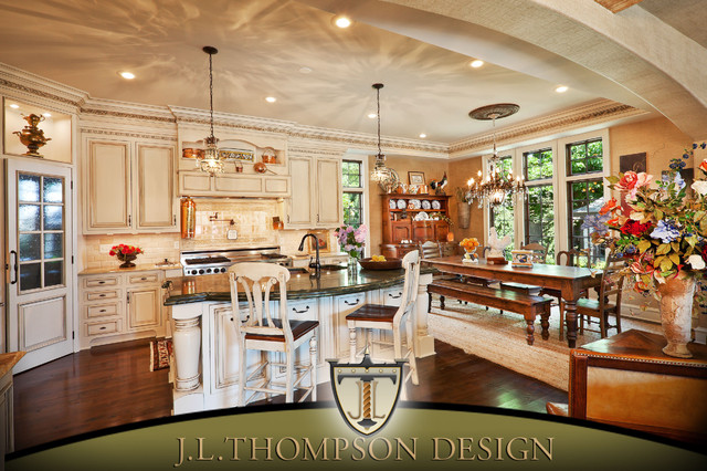 Remodel of the Year - Kansas City Home and Gardens Magazine traditional-kitchen