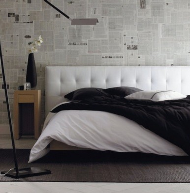 Bed styling techniques modern-bedroom