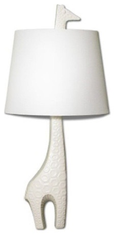Jonathan Adler Giraffe Sconce Facing Right eclectic children lighting