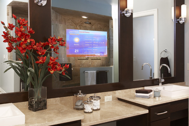 bathroom mirrors by Seura