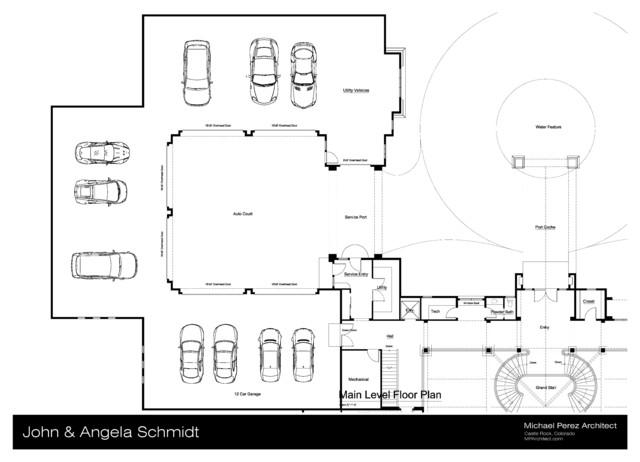 Schmidt Club House Man Cave Schematic Design