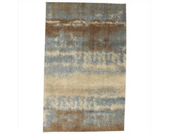 Aspen Blue Rug, Large contemporary-rugs