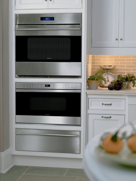 """Wolf 24"""" Traditional Microwave Drawer, Stainless Steel 