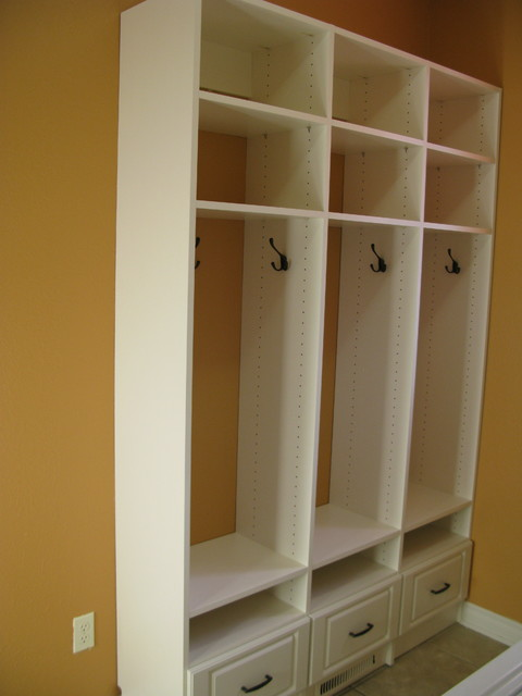 Mudroom Storage Solutions : Laundry mud room traditional other