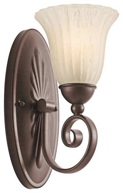Kichler Lighting - 5926TZ - Willow More - One Light Wall Sconce traditional-wall-lighting