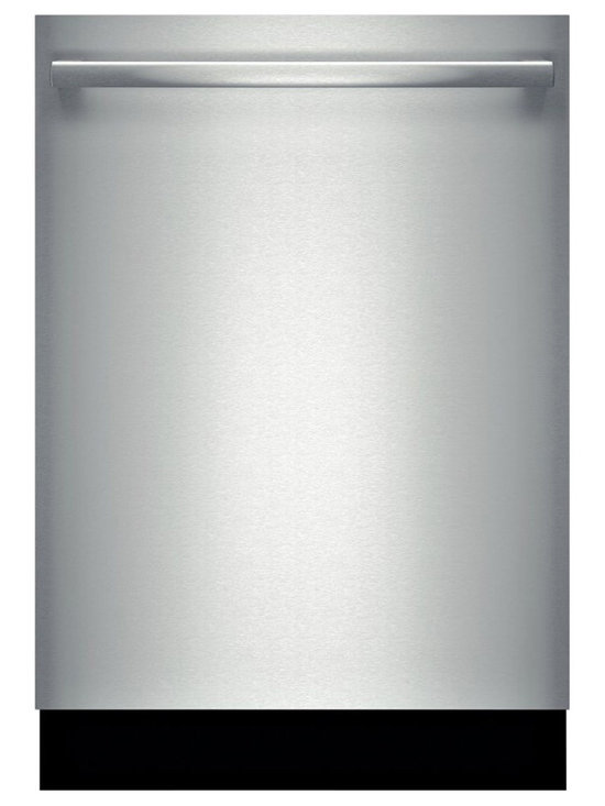 """Bosch 24"""" Bar Handle 800 Series Dishwasher, Stainless Steel 