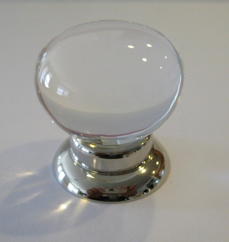 Mushroom Crystal Cabinet Knob - Modern - Cabinet And Drawer Knobs - other metro - by Elegance