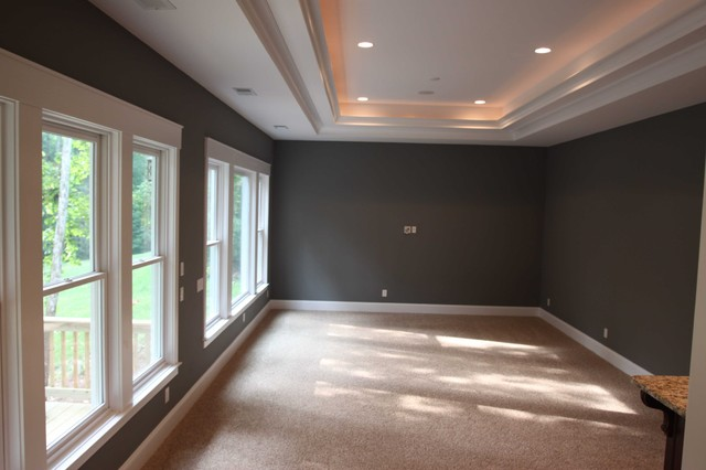 Media Room - traditional - media room - charlotte - by Grainda ...