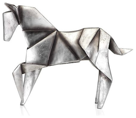 Origami Horse contemporary artwork