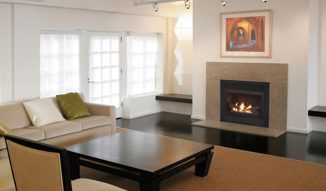 For The Fireplace #50 contemporary-living-room
