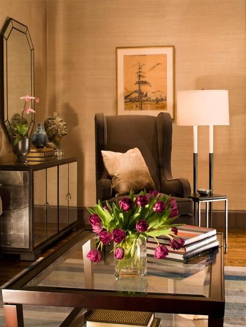 Chestnut Hill Residence traditional-living-room