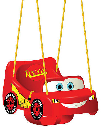 Disney Pixar S Cars The Movie Toddler Swing Contemporary