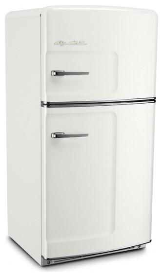Retro and modern refrigerators big chill - Original Big Chill Retro Refrigerator White Modern