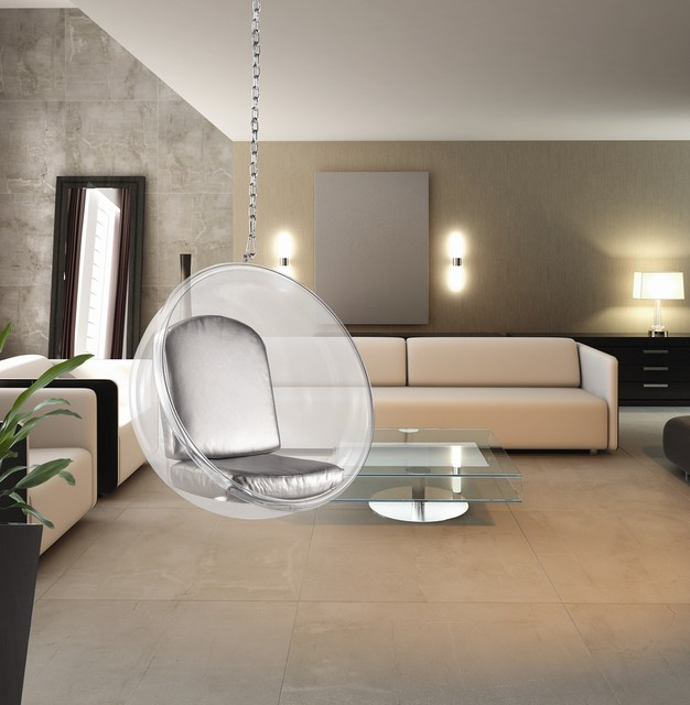 eero aarnio style bubble hanging chair midcentury