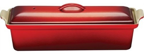 Le Creuset Heritage Cast Iron Loaf Pan With Lid Terrine
