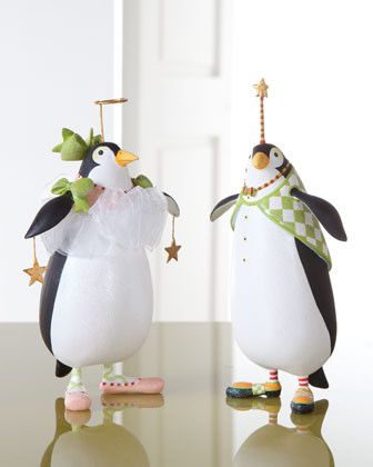 Patience Brewster Thaddeus Penguin Holiday Ornament traditional-holiday-decorations