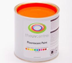 Paint Light Red Fluorescent Brushable Paint
