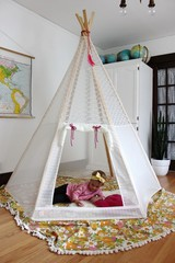 Make Your Own Play Teepee - A Beautiful Mess