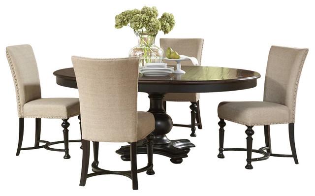 riverside furniture williamsport 5 piece dining table set