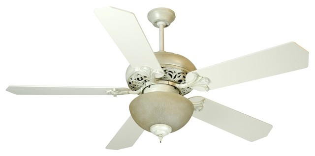 Craftmade K10325 Antique White Distressed Mia Mia Indoor Ceiling Fan contemporary-ceiling-fans