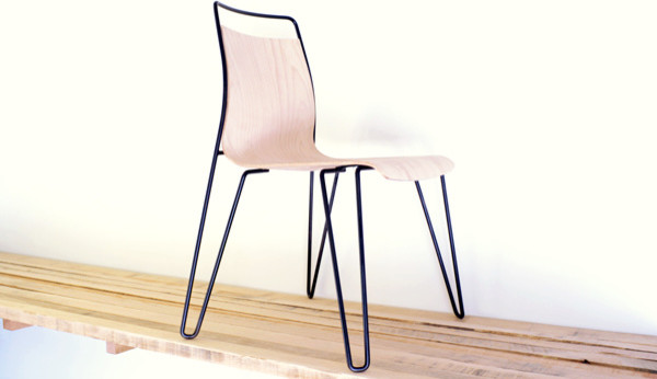 Prototypes of new designs dining-chairs