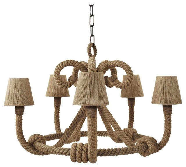Jamie Young Co. Nautique Chandelier traditional-chandeliers