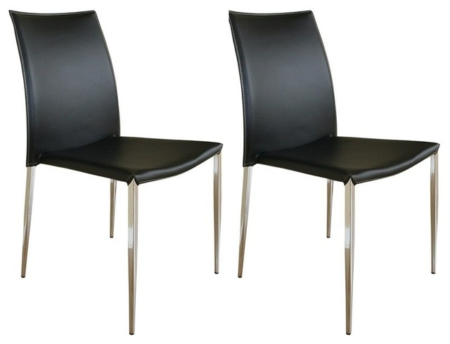 Wholesale interiors full leather arm less dining chairs for Dining chairs for less