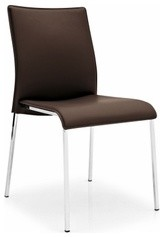 Calligaris | Easy Leather Dining Chair modern-dining-chairs