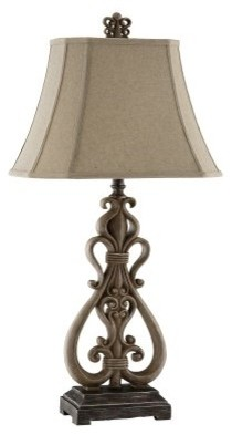 Stein World Open Scroll Resin Table Lamp 98828 modern-table-lamps