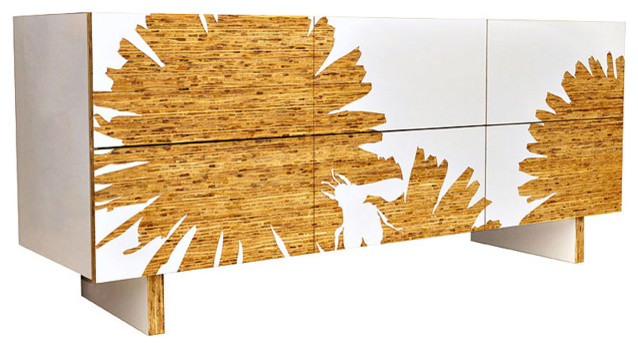 Iannone Design - Graphic 6 Drawer Dresser modern-dressers-chests-and-bedroom-armoires