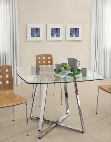Zuo Modern Lemon Drop Dining Table modern-dining-tables