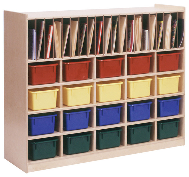 Classroom Cabinet Design ~ Steffywood kids home school classroom paper folder storage