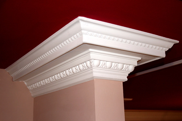 21 DCT Carved Styrofoam Crown Molding-6 in wide & 6.5 ft. long wallpaper