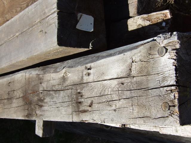 Original Hand hewn timber hardwood-flooring