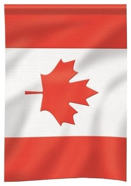 Carson 13 x 18 Canadian Garden Flag modern-patio-furniture-and-outdoor-furniture