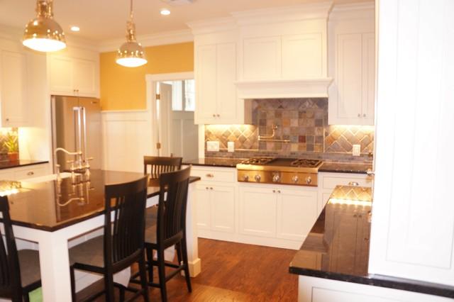 Craftsman Style Kitchen Renovation farmhouse-kitchen