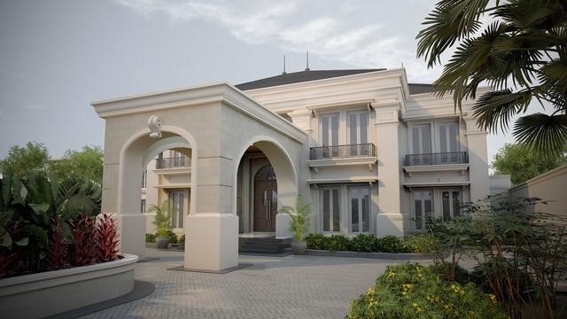 American Classic Mansion Residence In Cilangkap Jakarta