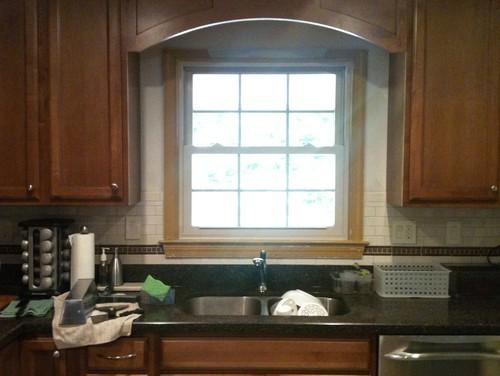 Paint Dilemma In Kitchen Around Window