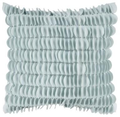 Surya Honeycomb Decorative Pillow - Light Blue modern-decorative-pillows