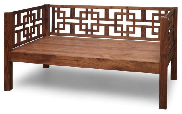 Solid Walnut Daybed Daybeds San Francisco By