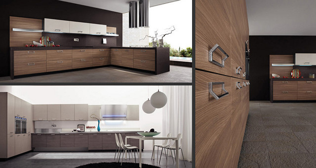 Arrital italian kitchens contemporary kitchen chicago by gene