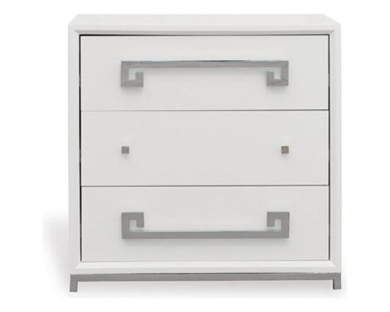 Port 68 - Port 68 Hancock Chest-White - Materials: Asian hardwoods/MDF/Metal hardware