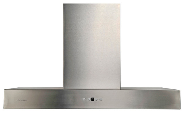 "Cavaliere AP238-PSZ Wall Mounted Range Hood - 42"" modern-range-hoods-and-vents"