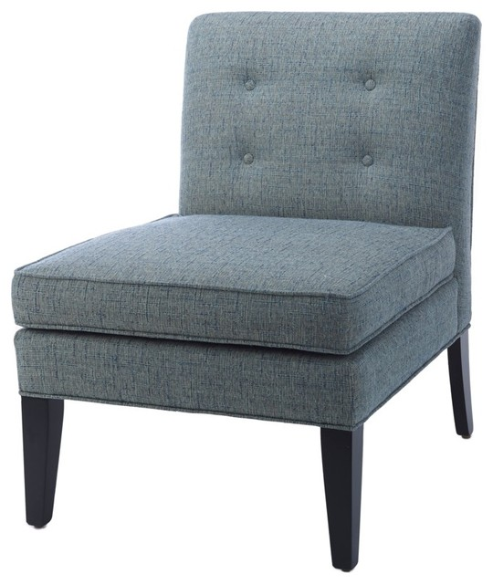 Dean Slipper chair - Traditional - Armchairs And Accent Chairs ...