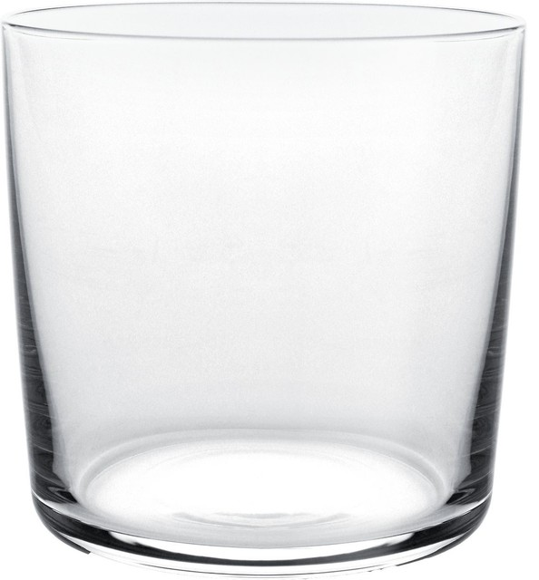 """Alessi """"Glass Family"""" Water Glass (Set of 4) contemporary-everyday-glassware"""