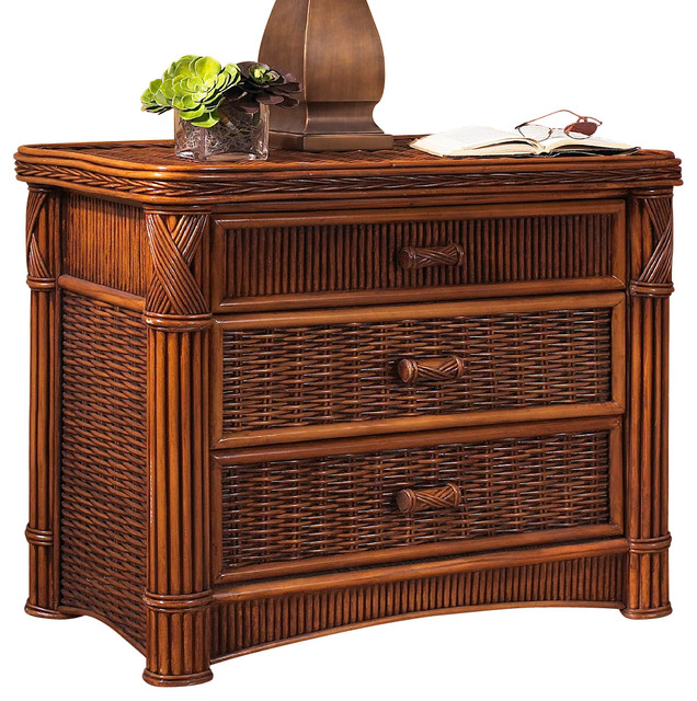 Rattan Chest : Barbados 3 Drawer tropical-furniture